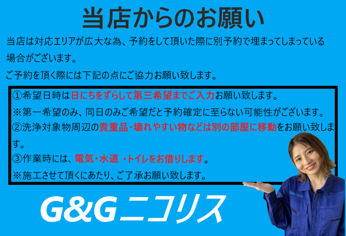 G&Gニコリス注意事項